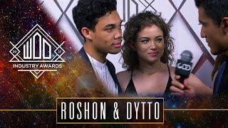 Dytto & Roshon   #WODAWARDS17   Red Carpet