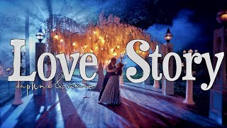 love story - taylor's version   bridgerton - daphne & simon