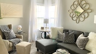2020 LIVING ROOM TOUR|SMALL SPACE DECORATING IDEAS