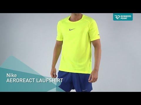 Nike AEROREACT LAUFSHIRT