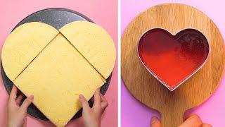 So Yummy Heart Cake Decorating Ideas | Tasty Cake Recipes | How To Make Cake Decorating Tutorial