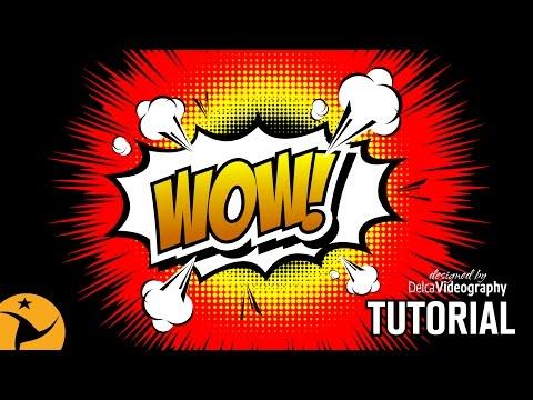 INTERMEDIO) 💣 COREL DRAW TUTORIAL: WOW EFFECT LOGO