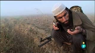 Talibanes en acción