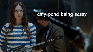 Amy Pond Being Sassy