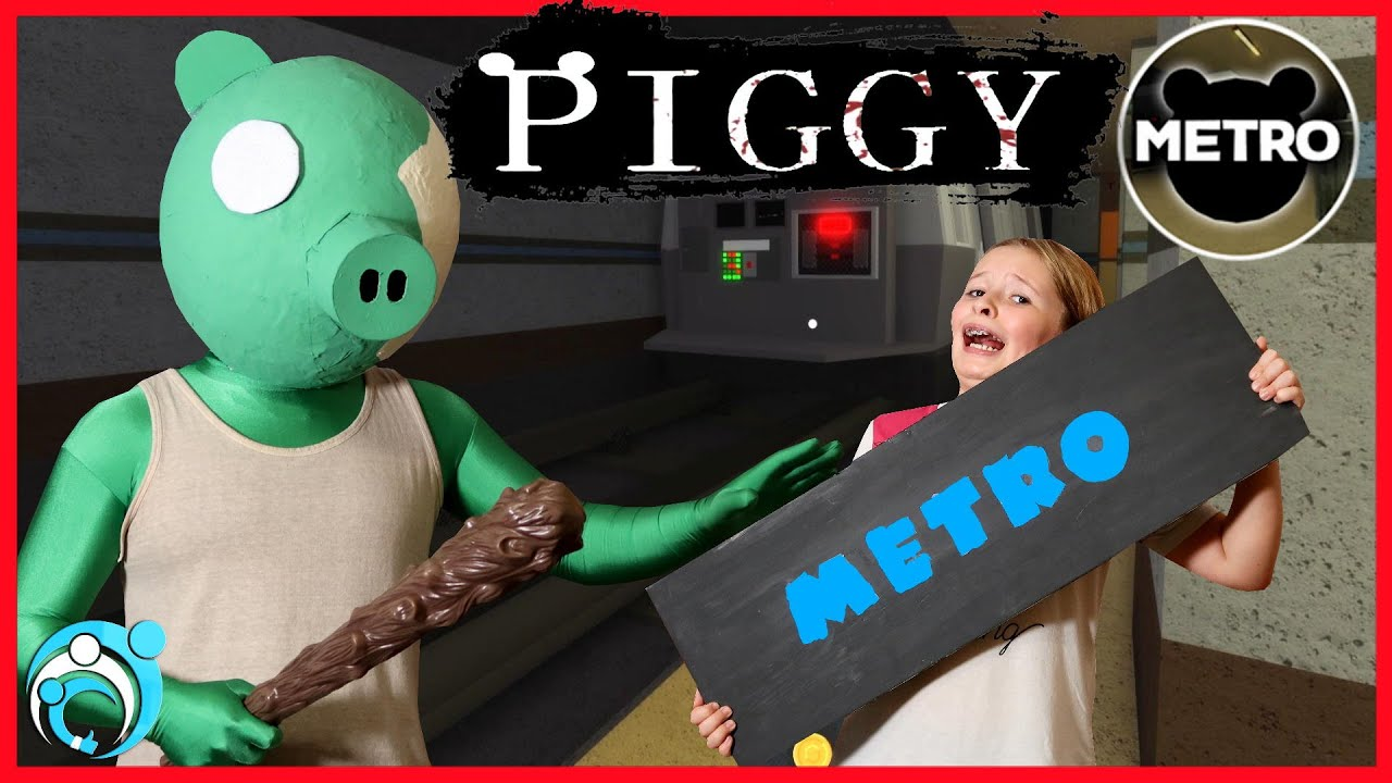 Roblox PIGGY In Real Life Chapter 7: The Metro! Thumbs Up