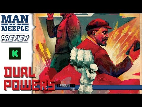 Dual Powers Preview by Man Vs Meeple