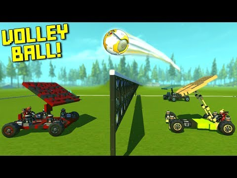 Car Volleyball Is Just Volleyball On Ultra Hard Mode... - Scrap Mechanic Multiplayer Monday