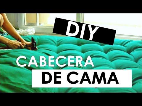 DIY : Hacer una cabecera de cama acolchonada