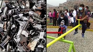 Playground Made Out of Guns