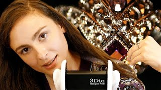 ASMR Ear To Ear Whisper & Jewelry Sounds For Relaxation, Sleep, Stress Relief, Binaural 3Dio