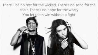 "LYKKE LI : ""NO REST FOR THE WICKED"" Feat A$AP ROCKY (LYRICS)"