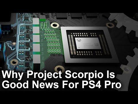 Xbox Scorpio è il medicinale ideale per PlayStation 4 Pro