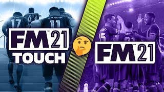 Football Manager 2021 Touch vs Full (video)