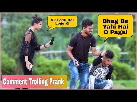 Yaha Ek Pagal Ghum Rahi Hai Prank On Public _Comment Trolling Part 1 _SHELLY SHARMA P4 PRANK
