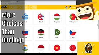A Duolingo Replacement?  This App Has WAY More Languages | Learn With Ling App Review