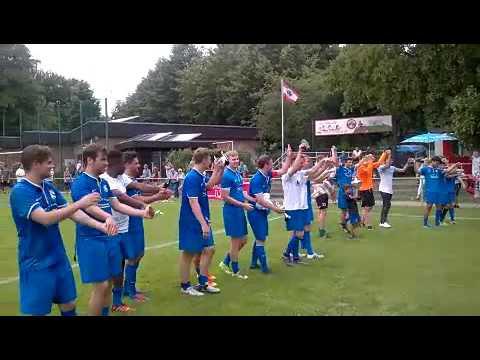 Jubel Sieger 2016 SC Staaken