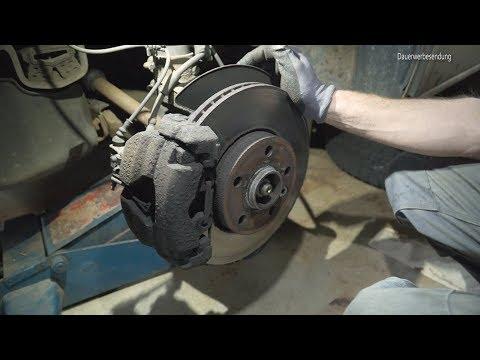 Volkwagen T5 Bremsbeläge wechseln | VW T5 Vorderachse Bremse Beläge erneuern brake pads exchange