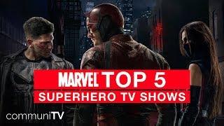 TOP 5: Marvel Superhero TV Shows | Marvel Special