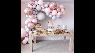 Eanjia Double Stuffed Balloon Garland DIY | How To | Tutorial 6mins Edit Cut