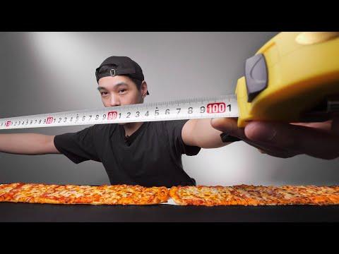BenDeen Eating 1 Meter Pizza