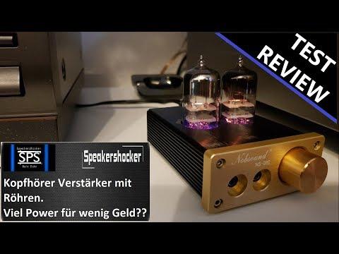 Kopfhörerverstärker mit Röhren Test Review. Klangverstärkung für unterwegs? Nobsound NS-08E Tube Amp
