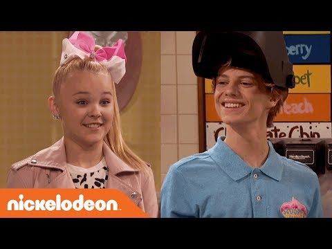 How Far Will Jace Norman Go to Help JoJo Siwa Get Ice Cream? | Nick's Sizzling Summer Camp Special