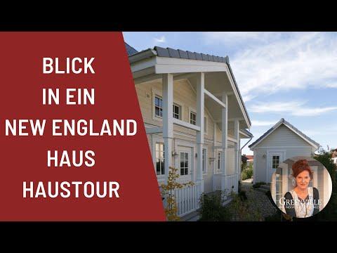 Haustour Blick In Ein New England Haus Amerikanisches Holzhaus