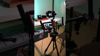 Phone Print Product Promotion Video in Our Home Studio