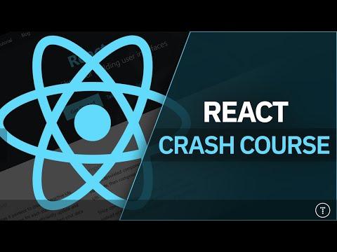 React JS Crash Course 2021 - YouTube