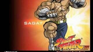 Ryu Vs Sagat  <b>Street Fighter 2 The Animated Movie</b> OST