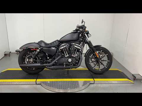 Preowned 2019 Harley Davidson 883 Iron XL883N For Sale