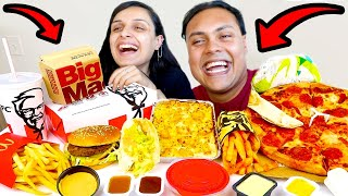 MUKBANG FOOD but it's EVERY FOOD 🍔🍕🍟