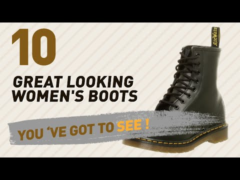 Dr. Martens Womens Boots Collection // New & Popular 2017