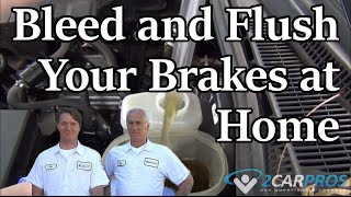 How to Bleed and Flush Your Vehicle Brakes