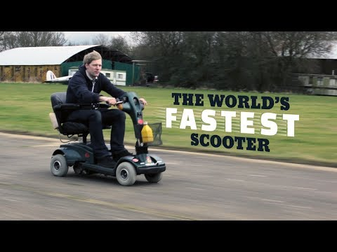 World S Fastest Mobility Scooter Does 80 Mph