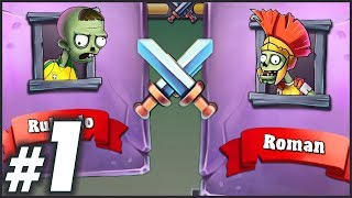 New Bow Master Gameplay Zombies VS Humans Bow Masters Game Of 2018 Part 1 Android & iOS