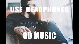 G Eazy & Halsey   Him & I ( 8D AUDIO )