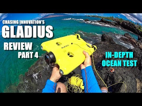 GLADIUS Submersible ROV Drone Review – Part 4 – In-Depth Ocean Test + Wireless Range Test