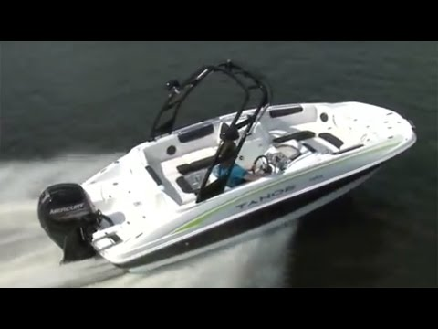 TAHOE Boats: 2017 1950 Full Review by Power Boat Television