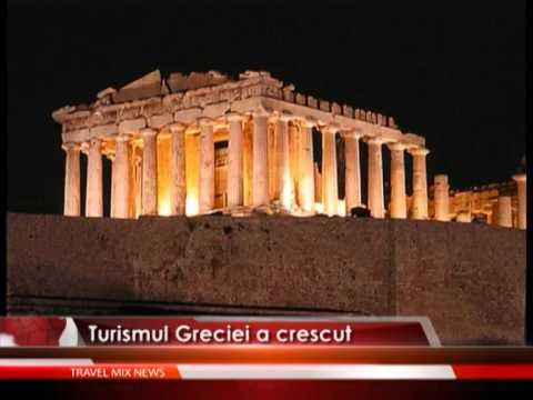 Turismul Greciei a crescut – VIDEO