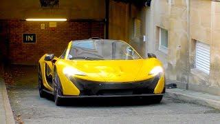 $2Million Mclaren P1 leaves Qatari PRINCE Garage!