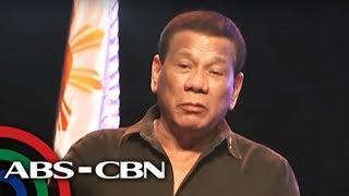 TV Patrol: 11 kandidato, inendorso ni Duterte sa pagka-senador
