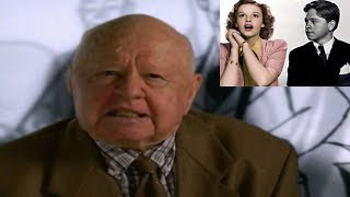 Mickey Rooney Talks about Judy Garland