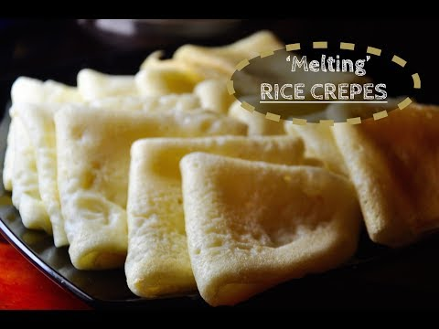 Rice Crepes (Kaima Pathiri / Nura Pathiri) | Recipes 'R' Simple