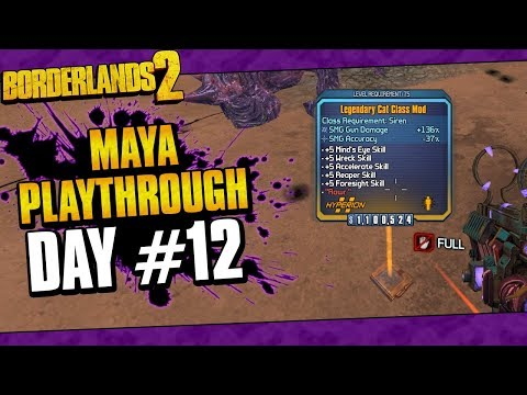 Borderlands 2 Reborn Maya Changes