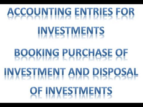 mp4 Investment Journal Entries, download Investment Journal Entries video klip Investment Journal Entries
