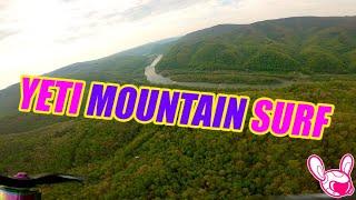 """West Virginia Mountain Surfing Rebel Yeti 10"""" Analog FPV"""