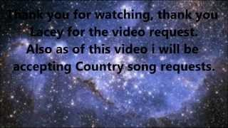Escape to the stars Lyrics Video (Lyrics on screen)
