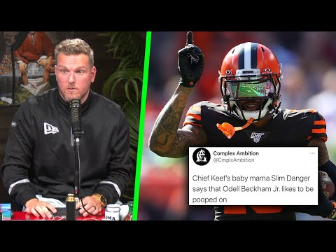 "Pat McAfee Reacts To Odell Beckham Jr ALLEGEDLY ""Loves Being S*** On"""