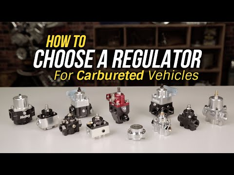 How To Choose A Regulator for Carbureted Vehicles